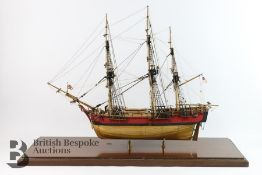 HMS Bounty Bespoke Hand Built Scale Model