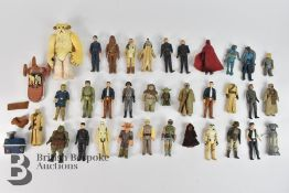 Collection of 33 Star Wars Figurines