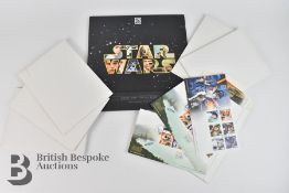 Star Wars Medals, First Day Covers and Star Wars Royal Mail Collectors Album for 40th Anniversary