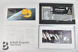 Star Wars Episode I The Phantom Menace 20 Lithographs in Original Box with Star Wars Art Concept
