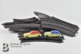 Bakelite Car Racing Set