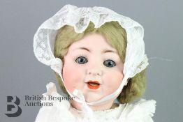 German Porcelain Doll