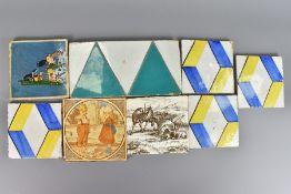Quantity of 19th and 20th Century Ceramic Tiles
