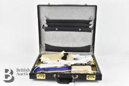 Suitcase of Masonic Regalia