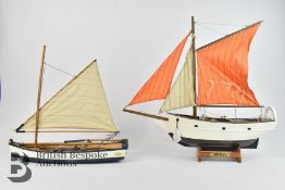 Four Model Boats in Original Boxes