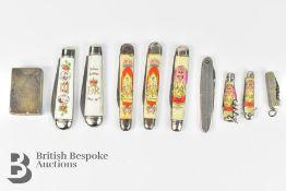 Quantity of Pen Knives
