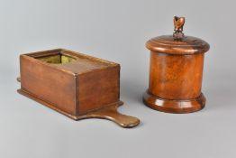 19th Century Lignum Vitae String Barrel