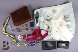 Masonic Regalia and Rotary Club Memorabilia