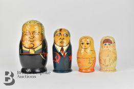 Four Matryoshka Dolls