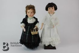 20th Century Bisque Headed Dolls