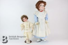German George 'My Girlie III' Bisque Headed Doll