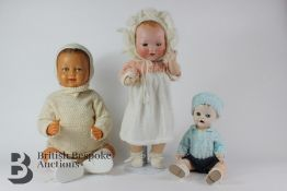 Armand Marseille Doll and Two Others