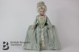 Charming 20th Century Doll of Georgian Lady