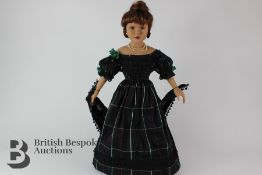 Charming 20th Century Doll of a Spanish Noblewoman