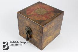 Art Nouveau Penwork Box