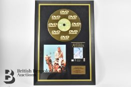 Three Signed Gold Disc Film