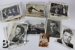 Quantity of Film Lobby Cards and Press Release Photographs