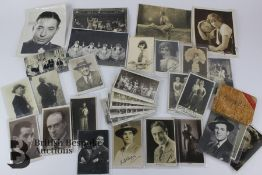 Quantity of Hand Signed Photographs of Musical and Theatre Interest