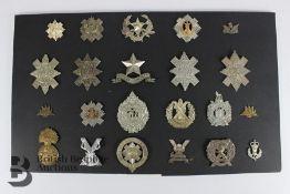 Twenty Scottish Head-Dress Badges