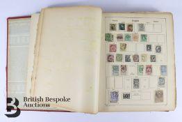 Pre-war All-World Stamp Album