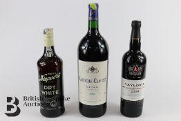 Magnum of Laroche-Clauzet Medoc and Bottles of Port