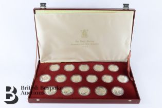 Boxed Quantity of Silver GB Coins