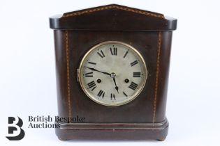 Edwardian HAC Mahogany Mantel Clock