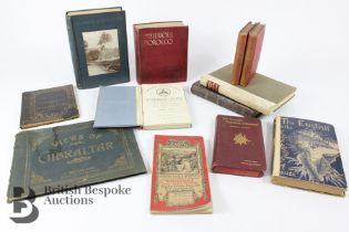 Quantity of Vintage Travel Books