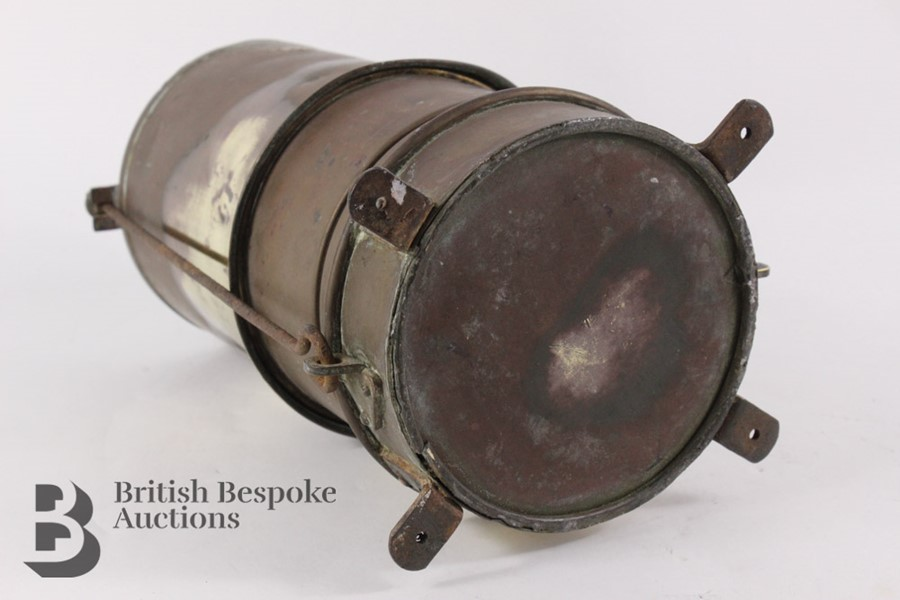 Rare Brass Running Board Mounted Acetylene Lamps Generator - Image 7 of 7