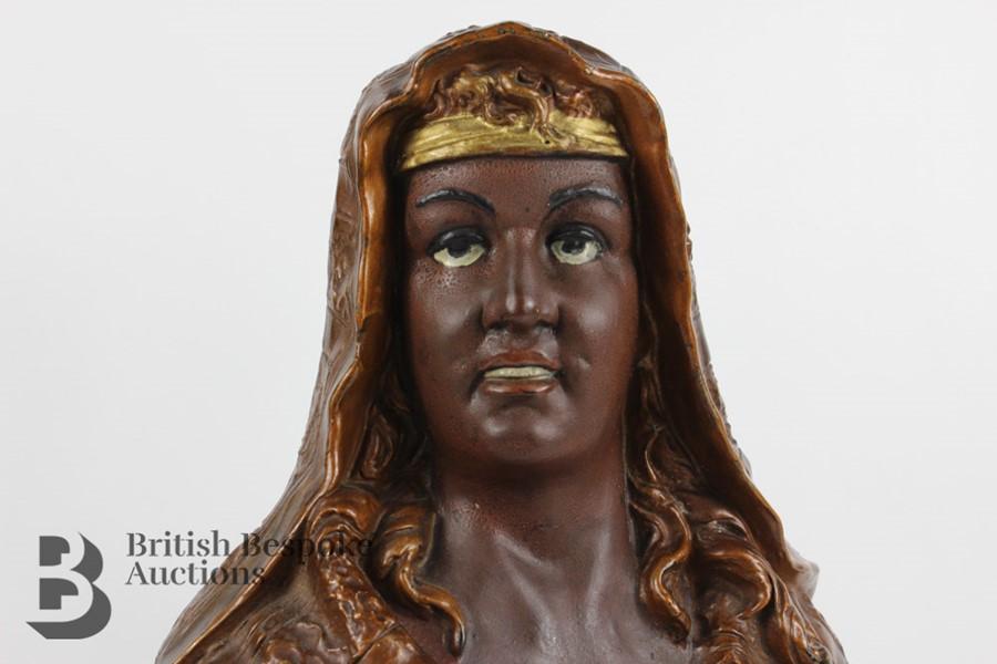 Ceramic Figurine - Arabian Woman - Image 9 of 12