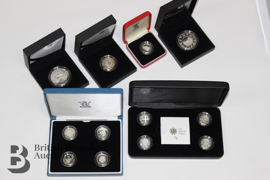 Royal Mint Silver Proof Coins - Image 3 of 4