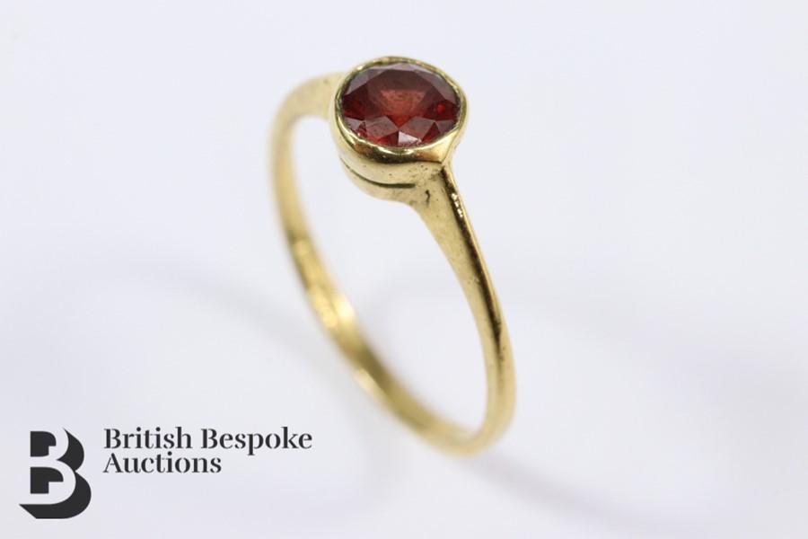 18k Gold Bracelet - Image 2 of 2