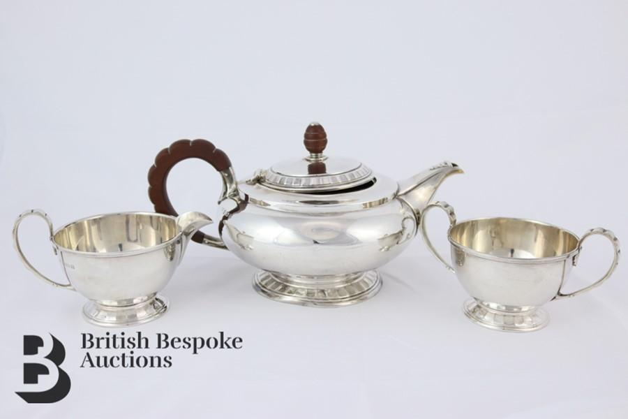 Silver Tea Trio
