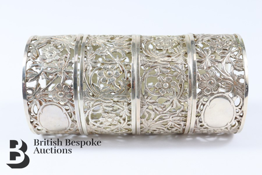 Four Silver Napkin Rings - Image 2 of 3