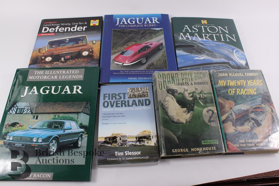 Quantity of Motoring Books Including Signed George Monkhouse 1955 - Image 5 of 7
