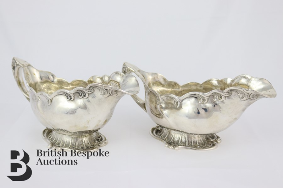 Pair of Silver Swedish Sauceboats - Image 2 of 6