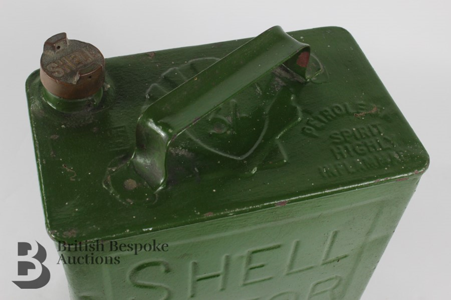 Vintage Shell Petrol Can - Image 5 of 6