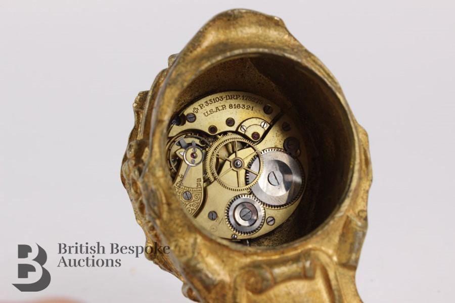 Russian Miniature Clock - Image 7 of 7