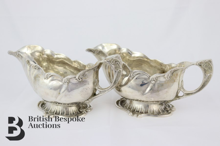 Pair of Silver Swedish Sauceboats - Image 3 of 6