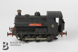 Vintage Bonzone Locomotive Nr 4