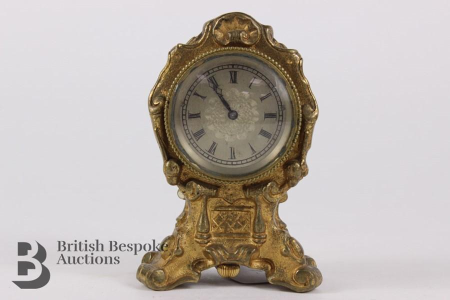 Russian Miniature Clock