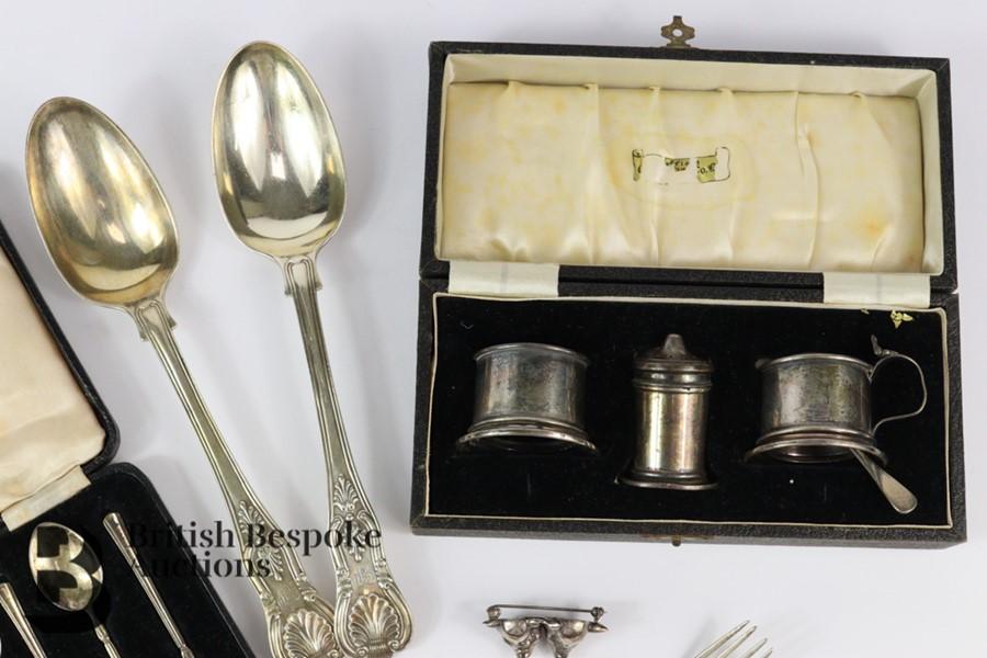 Silver Tea Trio - Image 6 of 6