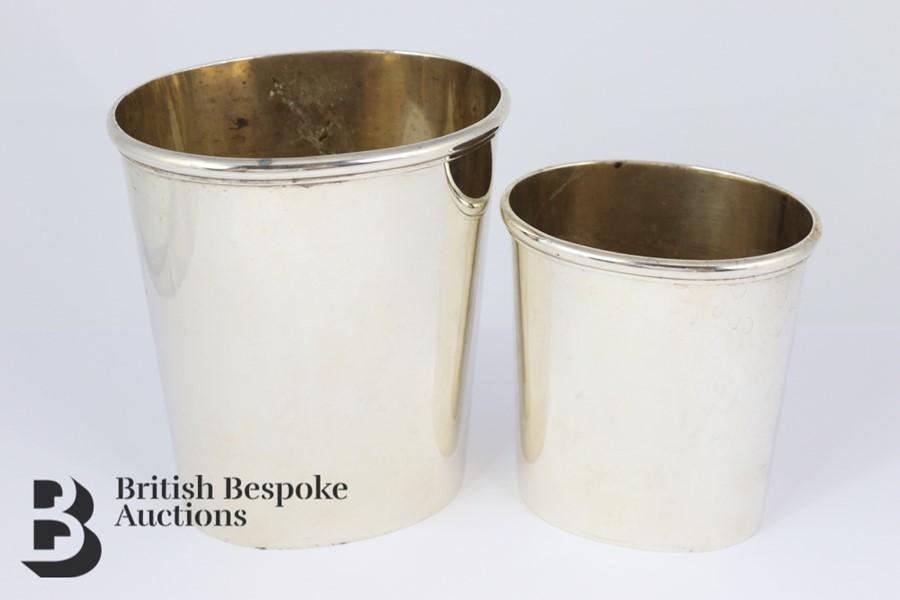 Swedish Silver Beakers