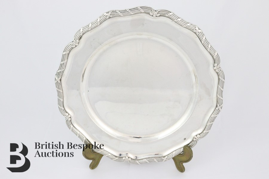 Swedish Silver Platter