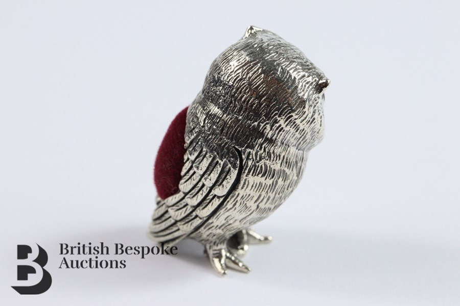 Silver Owl Pin Cushion - Image 3 of 4