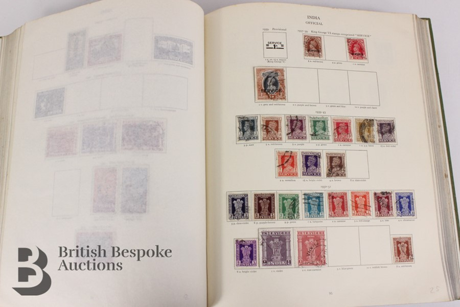 Quantity of Commonwealth Stamps - Image 13 of 29