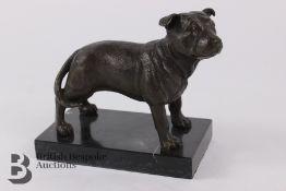 Bronze Staffordshire Terrier