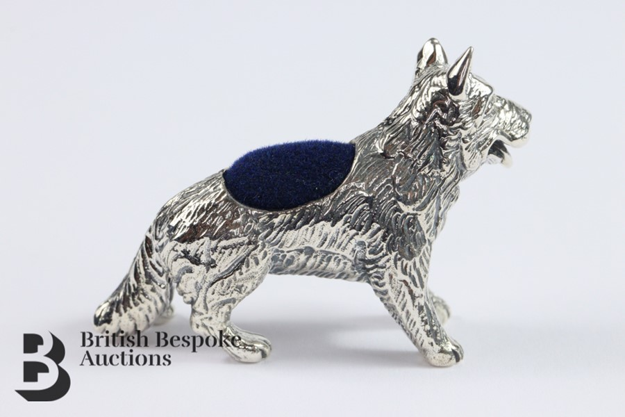 Silver Pin Cushion - Image 2 of 3