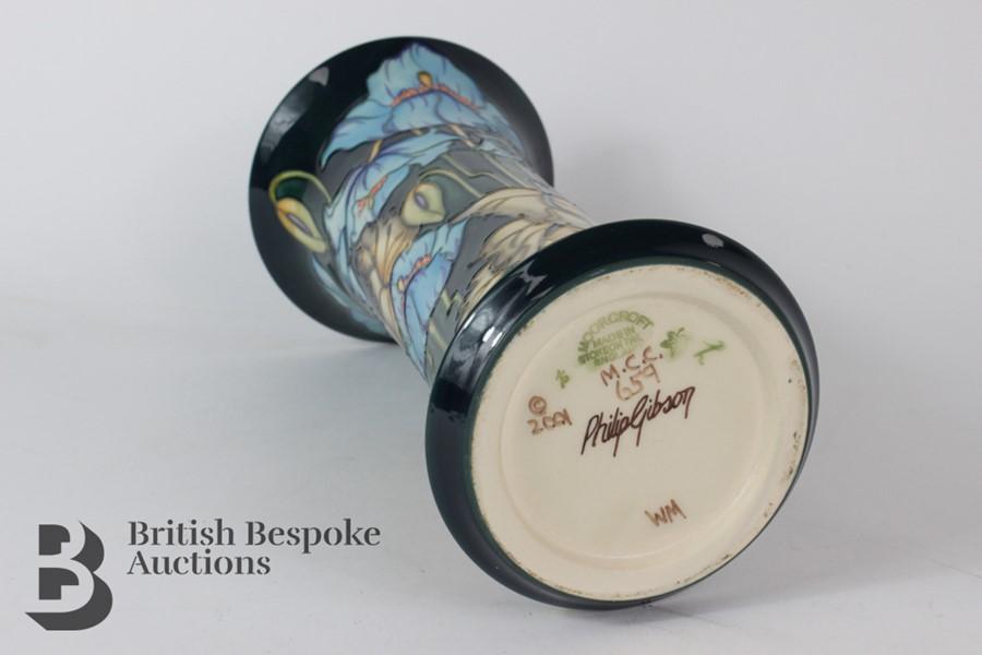 Philip Gibson - Moorcroft 'Himalayan Poppy' Vase - Image 6 of 7