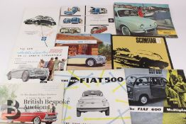 Quantity of Automobilia Brochures